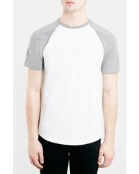 Topman Short Sleeve Baseball T Shirt