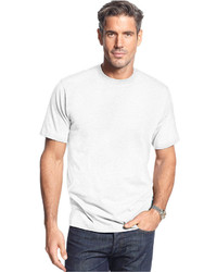 John Ashford Short Sleeve Crew Neck Solid T Shirt