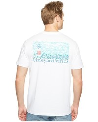 Vineyard Vines Short Sleeve Fish Lighthouse Pocket T Shirt T Shirt