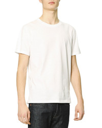 Valentino Short Sleeve T Shirt With Rockstud White