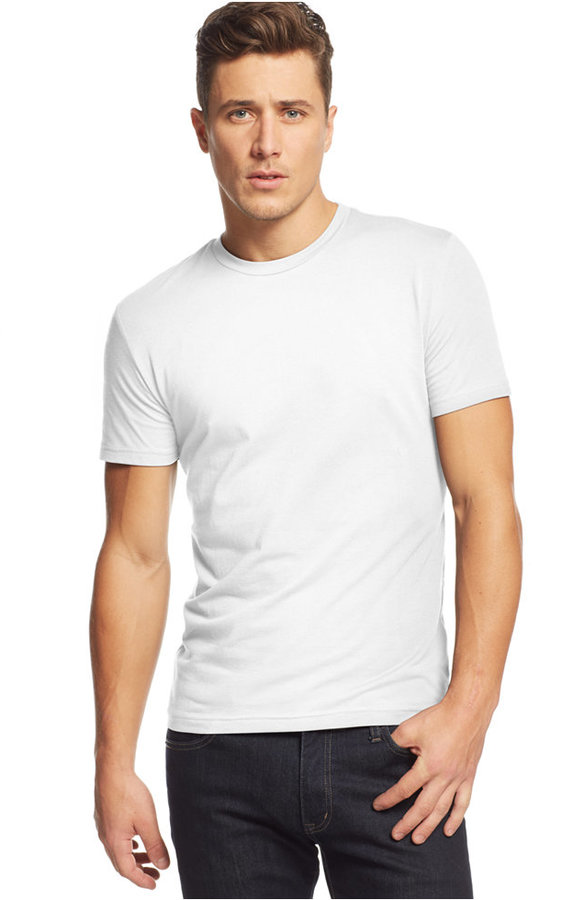 fe6feaaa21b489 ... Alfani Slim Fit Crewneck T Shirt ...