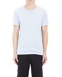 Vince Slub Jersey T Shirt Blue