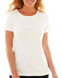 St Johns Bay St Johns Bay Short Sleeve Crewneck T Shirt