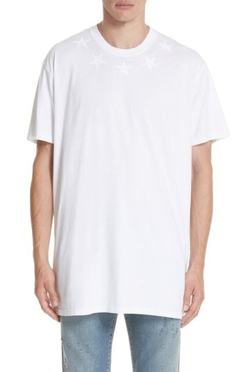 Givenchy Star Applique T Shirt