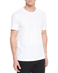 Alexander Wang T By Basic Short Sleeve Crewneck Tee White