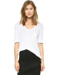 Alexander Wang T By Classic T Shirt With Pocket