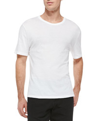 Alexander Wang T By Pima Cotton Classic T Shirt White
