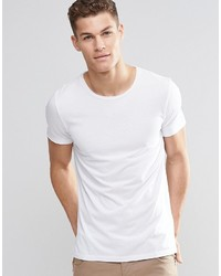 Boss Orange T Shirt With Crew Neck In White