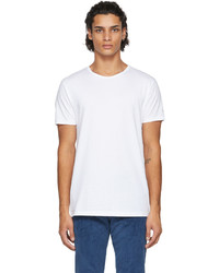 Paul Smith Three Pack White Cotton T Shirts