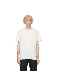 Jil Sander Three Pack White Organic Cotton T Shirt