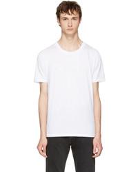 Maison Margiela Three Pack White Stereotype T Shirts