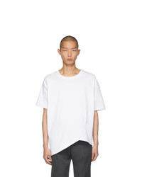 Bottega Veneta White Asymmetric T Shirt