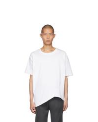Bottega Veneta White Asymmetric T Shirt