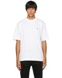 Études White Award Accent T Shirt