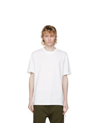 Y-3 White Classic Back Logo T Shirt