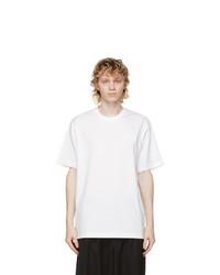 Y-3 White Classic Chest Logo T Shirt