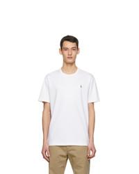 Polo Ralph Lauren White Classic Fit Crewneck T Shirt