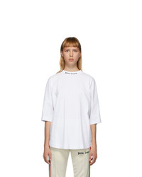 Palm Angels White Classic Logo T Shirt