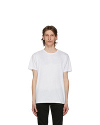 Rag and Bone White Classic Pixel T Shirt