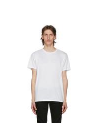 Rag and Bone White Classic Pixel T Shirt