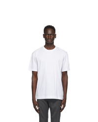 Z Zegna White Cotton Jersey Oversized T Shirt