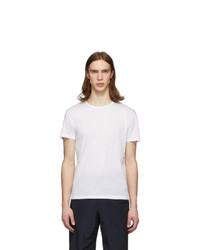 Paul Smith White Cotton T Shirt