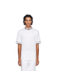 Fendi White Cotton T Shirt