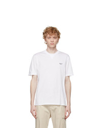 Ermenegildo Zegna White Cotton T Shirt