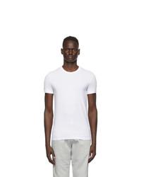 Ermenegildo Zegna White Crewneck T Shirt