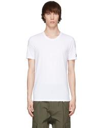 Balmain White Crewneck T Shirt