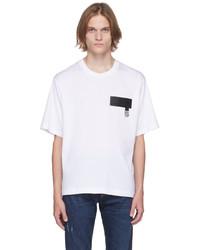 Dolce & Gabbana White Dna Patch T Shirt