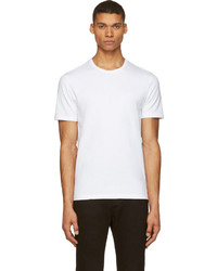 Acne Studios White Eddy Short Sleeve T Shirt