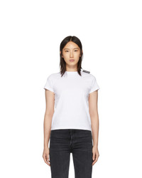 Balenciaga White Fitted T Shirt