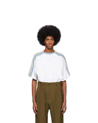 Y/Project White Four Layer T Shirt