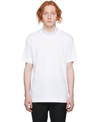 Givenchy White Funnel Neck 4g T Shirt