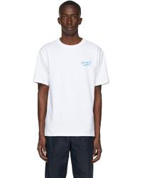 A.P.C. White Gimme Five Edition Steve T Shirt