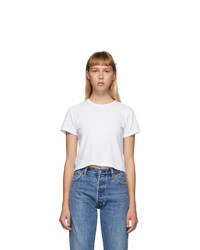 RE/DONE White Hanes Edition Heritage 1950s Boxy T Shirt