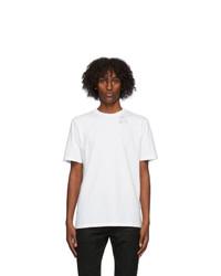 Saint Laurent White Heart Trap T Shirt