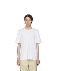 Helmut Lang White Helmut Laws T Shirt