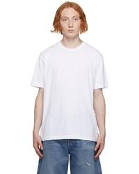 Acne Studios White High Neck T Shirt