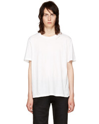 Saint Laurent White Je Taime T Shirt