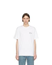 Burberry White Justin T Shirt