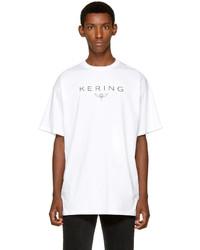 Balenciaga White Kering T Shirt