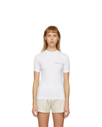 Jacquemus White Le T Shirt De Collection T Shirt