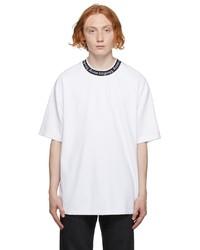 Acne Studios White Logo Binding T Shirt