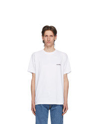 Vetements White Logo Front Back T Shirt