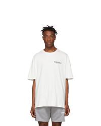 Essentials White Logo T Shirt