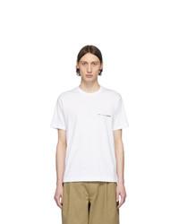 Comme Des Garcons SHIRT White Logo T Shirt