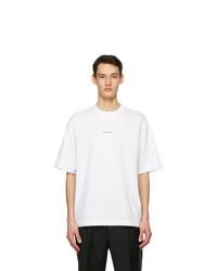 Acne Studios White Logo T Shirt