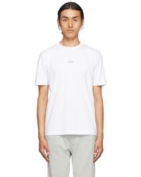 BOSS White Logo T Shirt